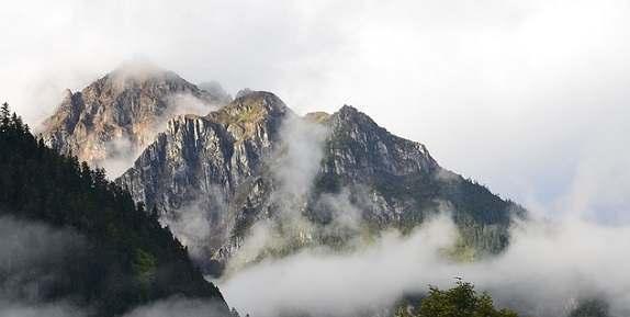 Горные хребты Тибетского нагорья