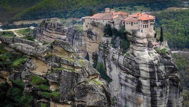 Метеоры в Греции