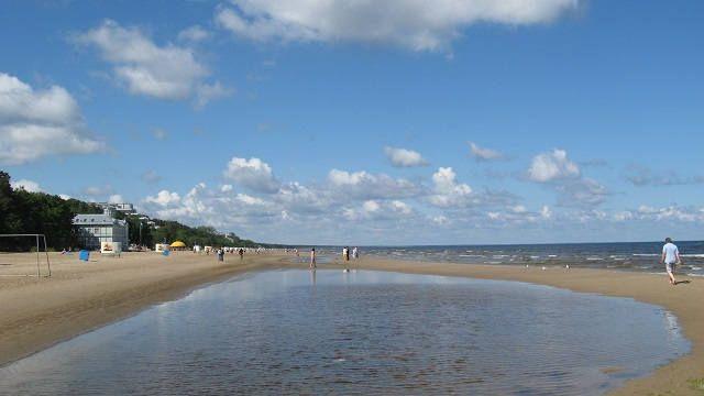 Юрмала пляж