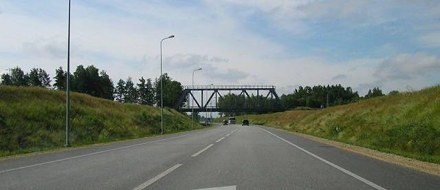 Латвия дороги
