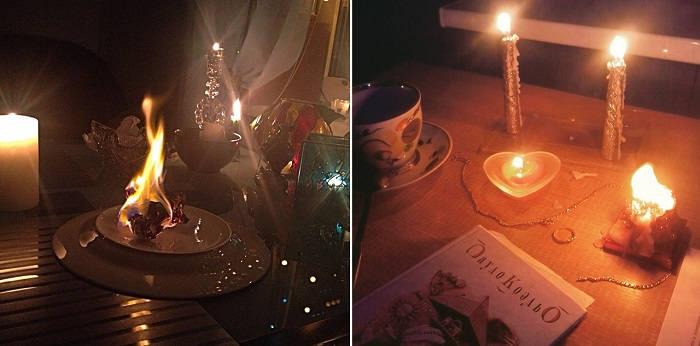 Гадания в новогоднюю ночь
