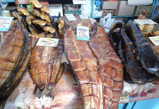 Астрахань рыбный рынок