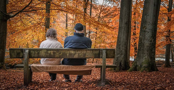 Когда женщина на пенсии