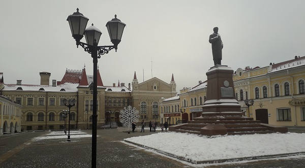 Красная площадь Рыбинска