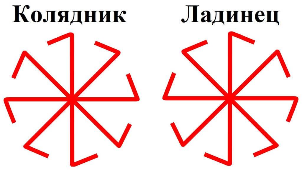 Славянский оберег колядник