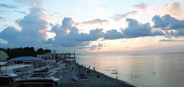 Пляж Лазаревское взморье