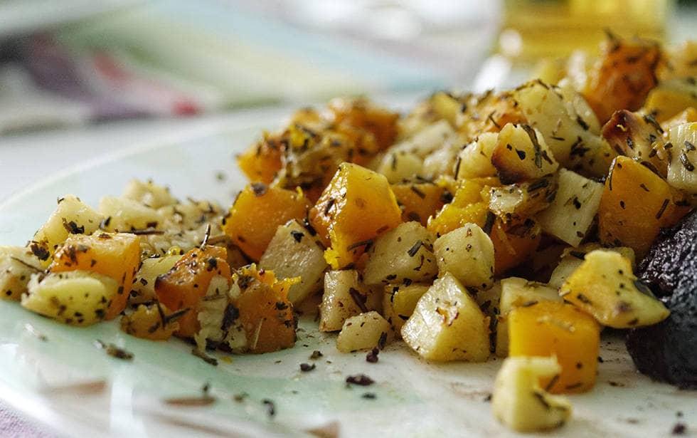 Картофель золотистого цвета