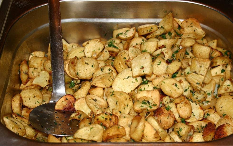 Картофель с кожурой
