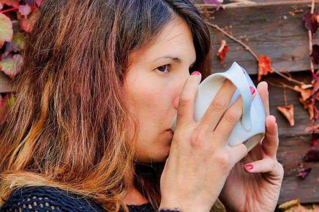 Девушка после диеты гречка с кефиром
