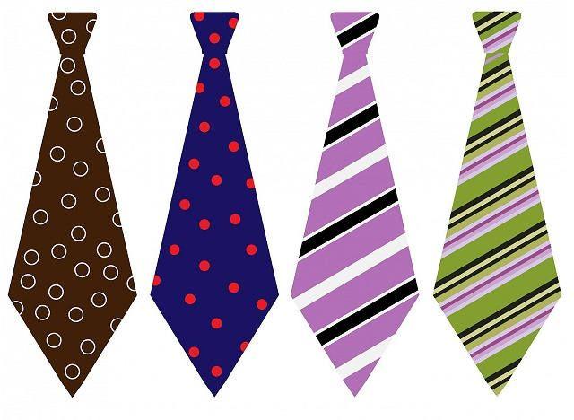 Цвета галстука