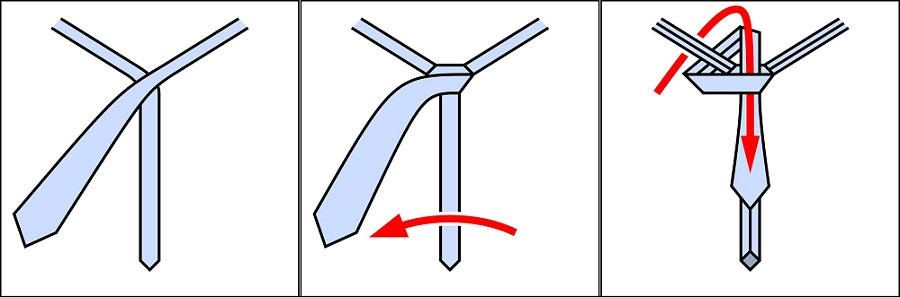 Инструкция как завязать галстук