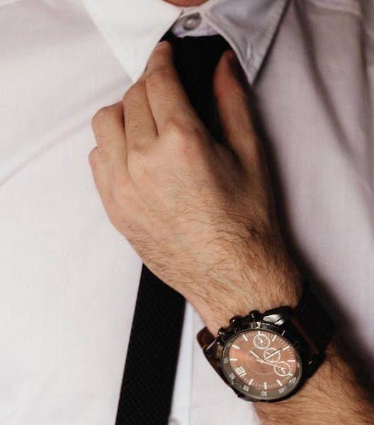 Узкий галстук