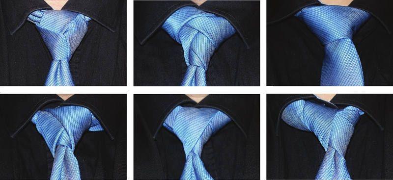 Виды узлов галстуков