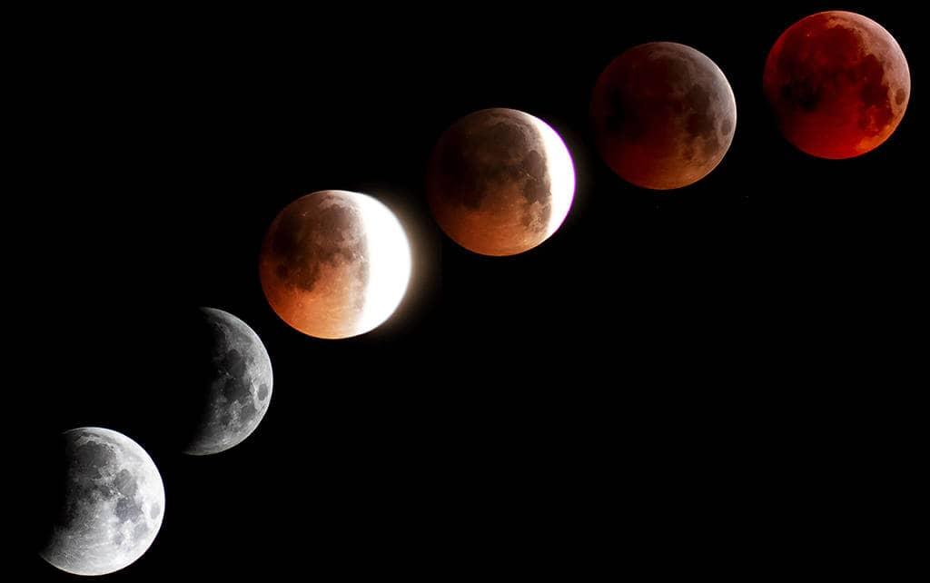 Затмение Луна