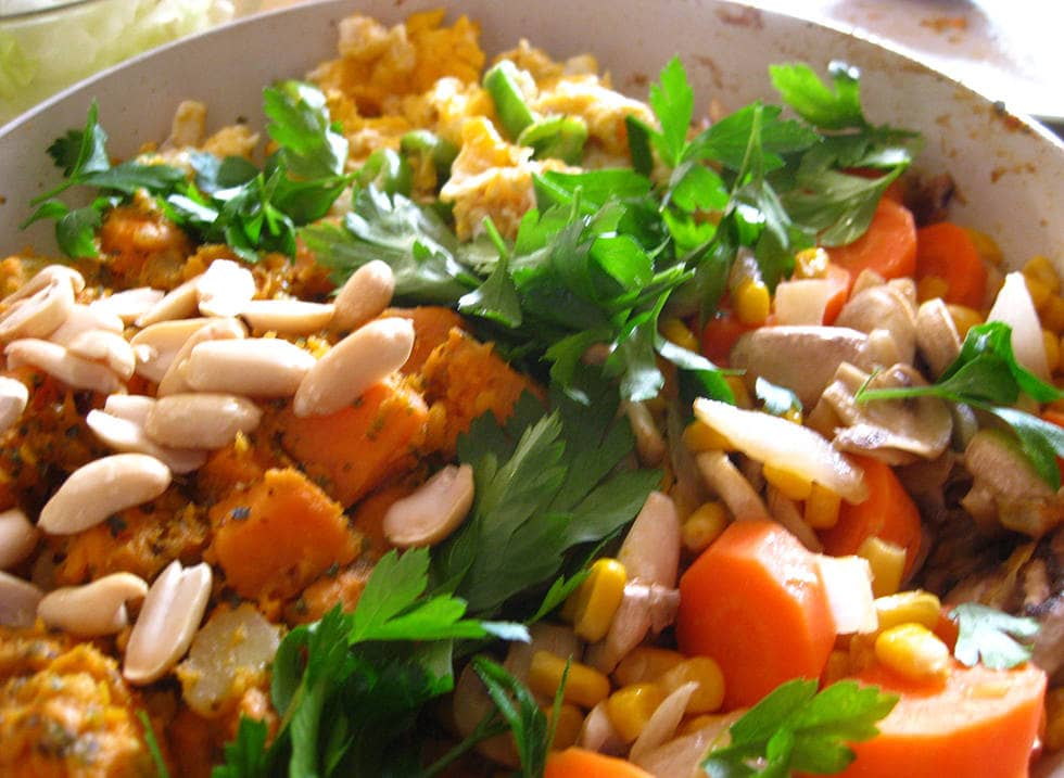 Салат фасолька