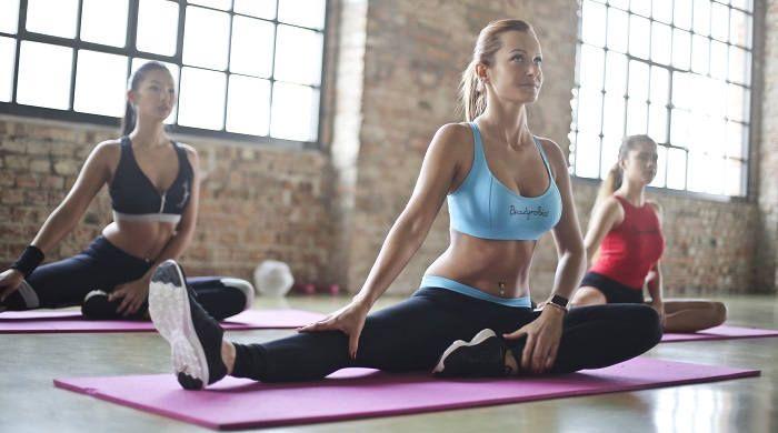Занятия в спорт зале для похудения