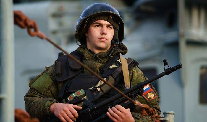 Российский солдат