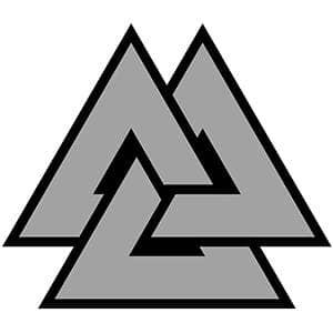 Валькнут символ