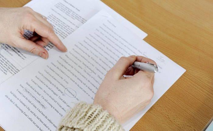 Запись на бумаге намерений
