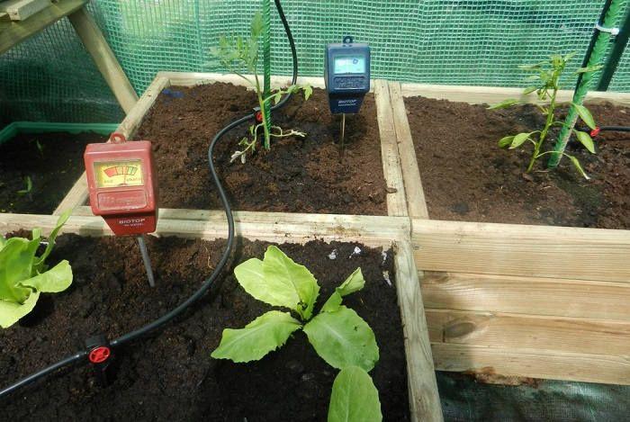Влияние на pH почвы