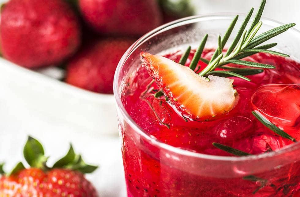 Щербет из красных ягод