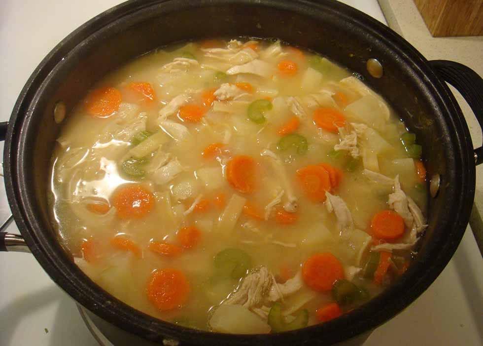 Как варить куриную грудку для супа