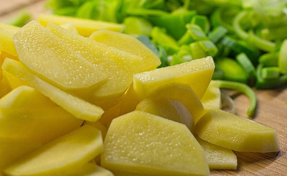 Как нарезать картофель