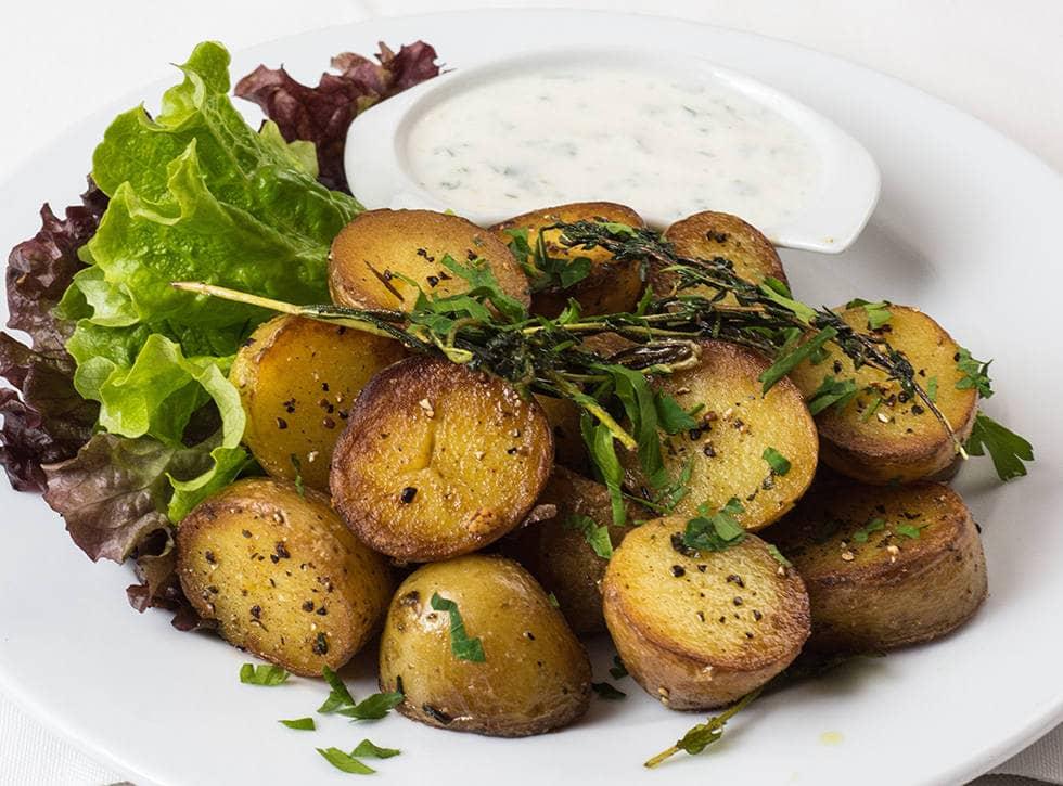 Вторые блюда с картошкой