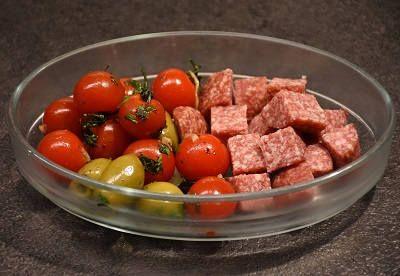 Мясо с томатами