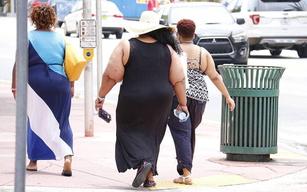 Ожирение у людей
