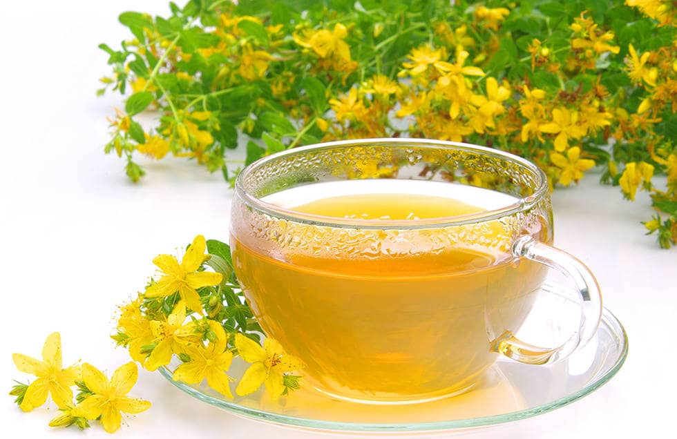 Чай с зверобоем