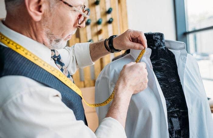 Как замерить воротник рубашки
