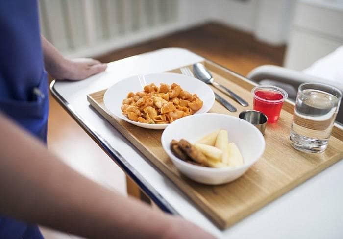 Порция продуктов для обеда