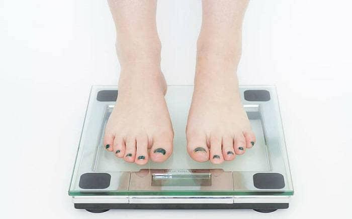 Измерение веса на весах