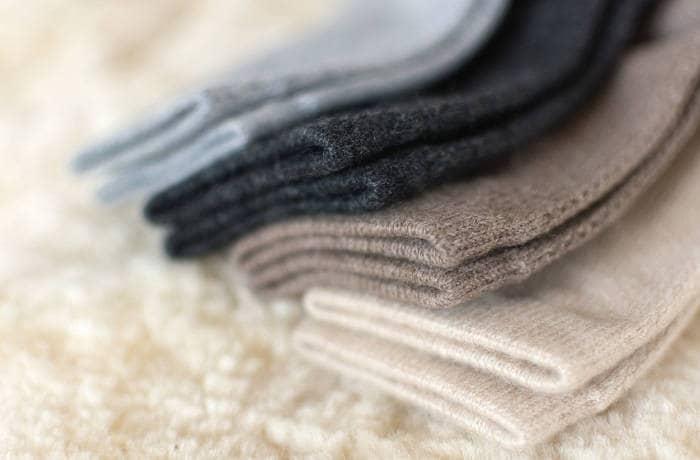 Носки из материала кашемир