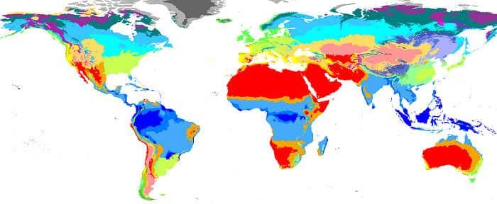 Климатические условия