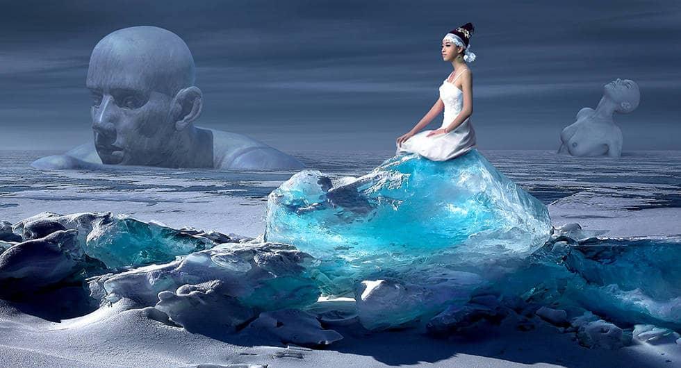 Ледяное озеро ада