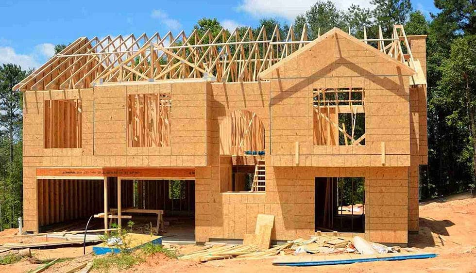 Начальное строительство дома