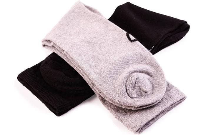 Носки из материала льна