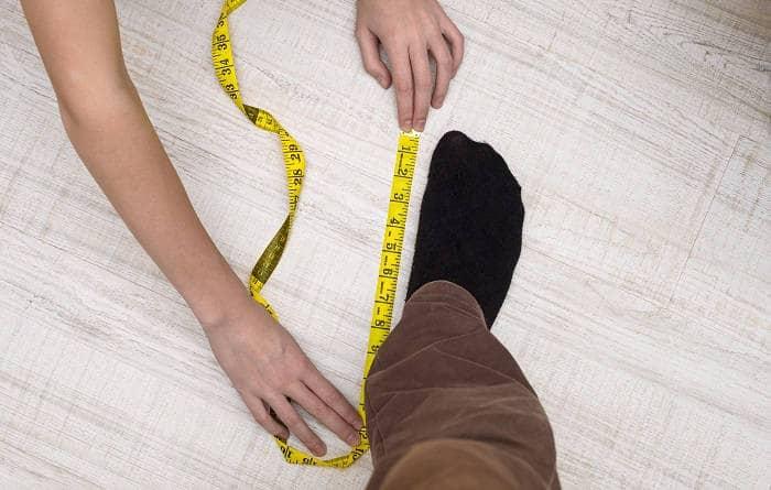 Замерить стопу ноги