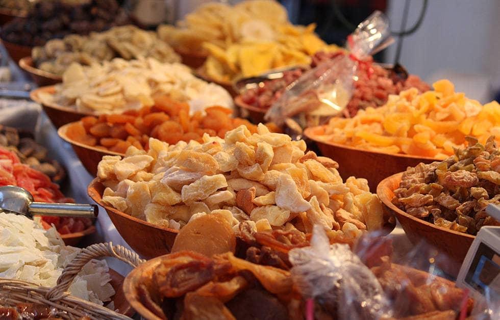 Сушеные фрукты для компота