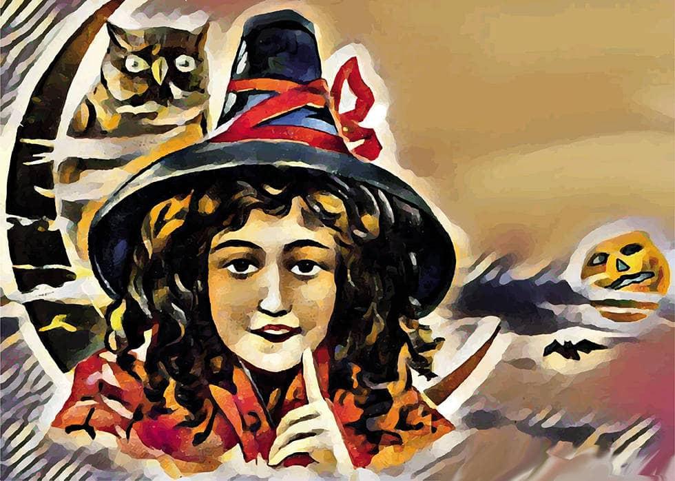 Ведьма с совой