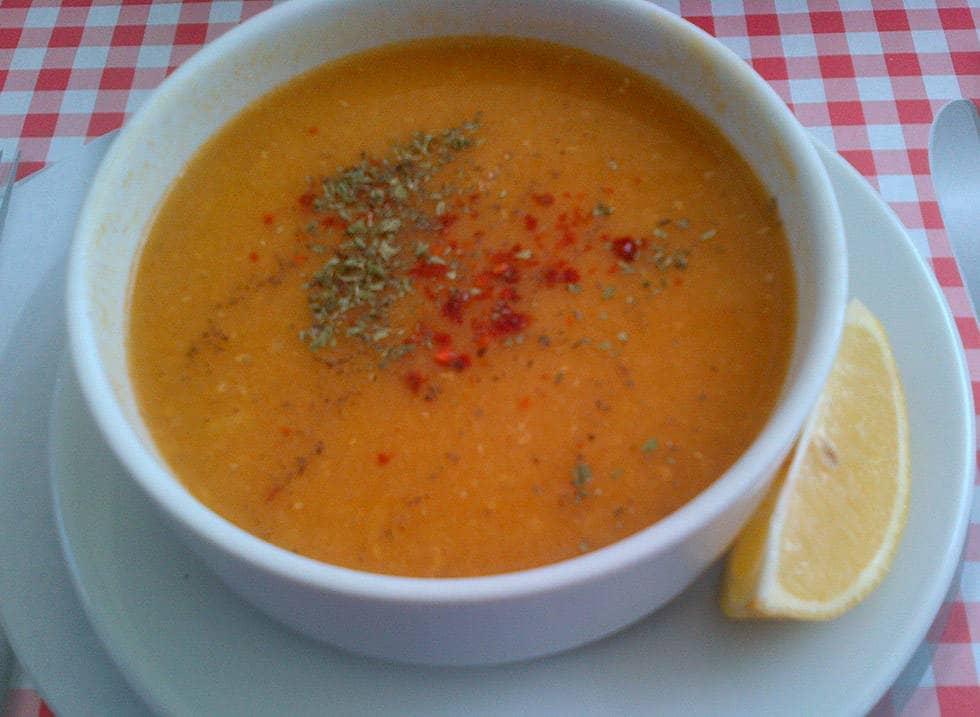 Чечевичный суп на время поста