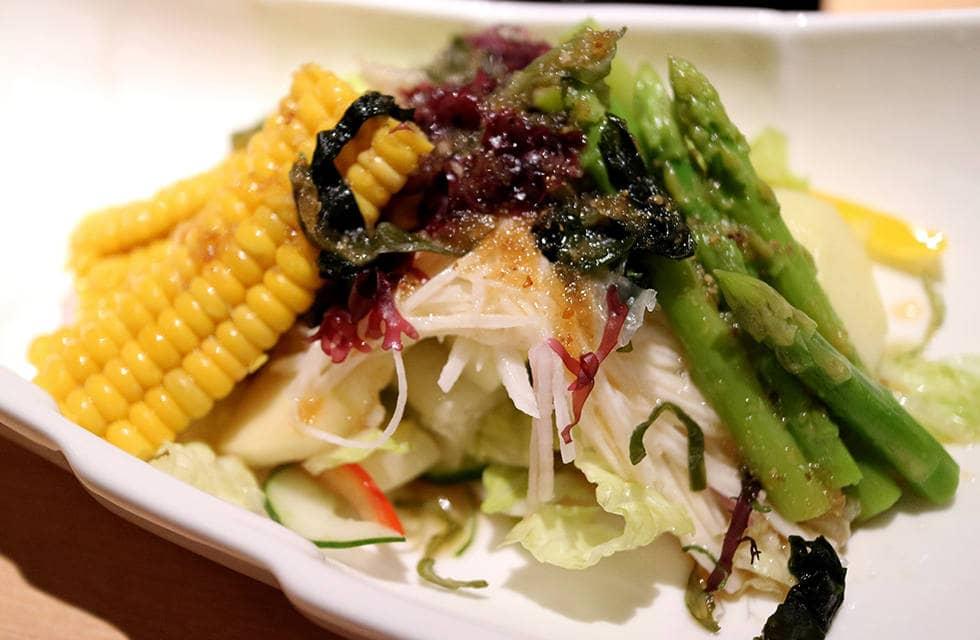 Салат с кукурузой для постного поста