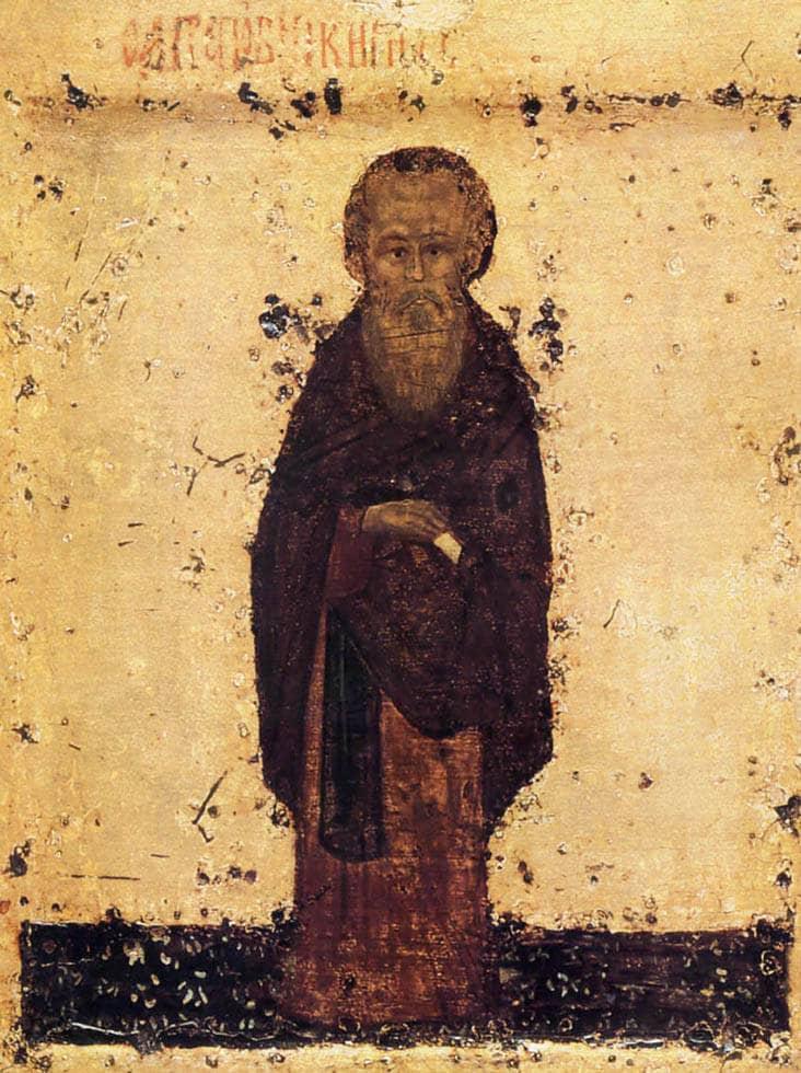 Св. преподобный К.Белозерский