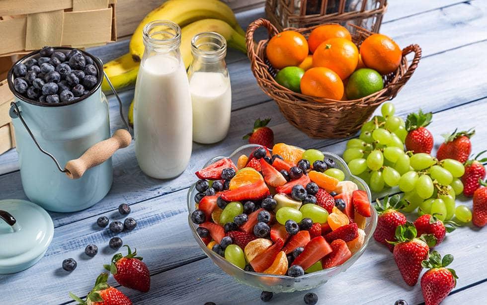 Ягоды овощи фрукты