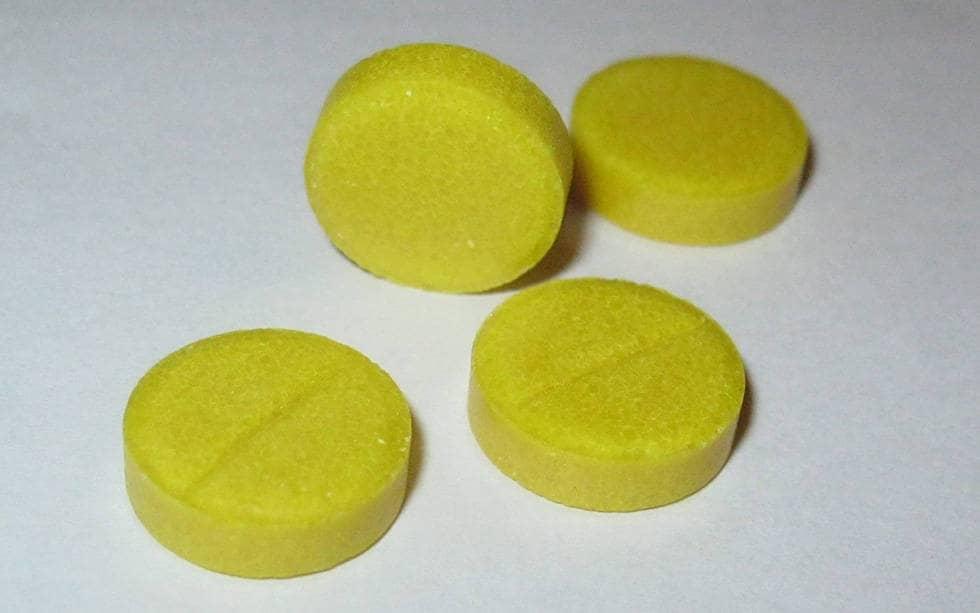 Таблетки без упаковки фурацилина