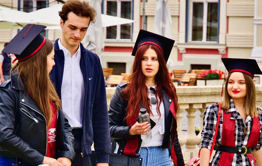 Студенты в Татьянин день