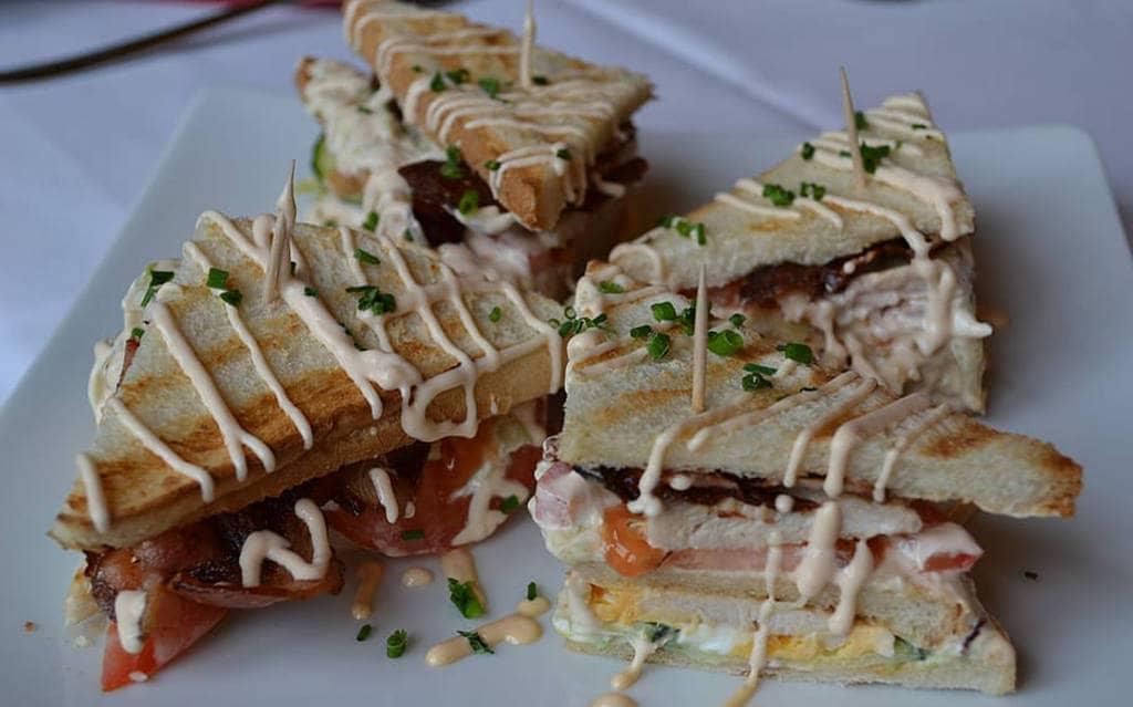 Бутерброды со сметаной